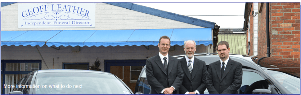 Funeral services - Isle of Wight - Geoff Leather Independent Funeral Directors - More Information