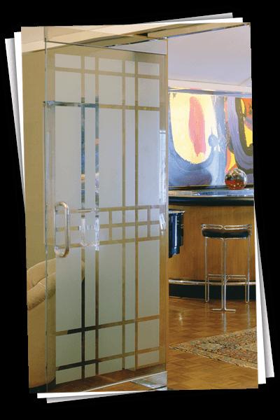 allcool window films glass door in the office