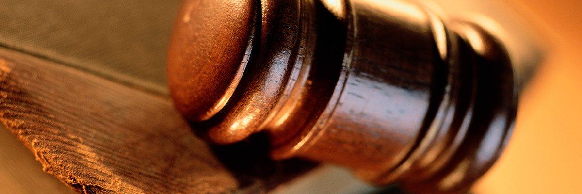 intercept law wooden gavel book