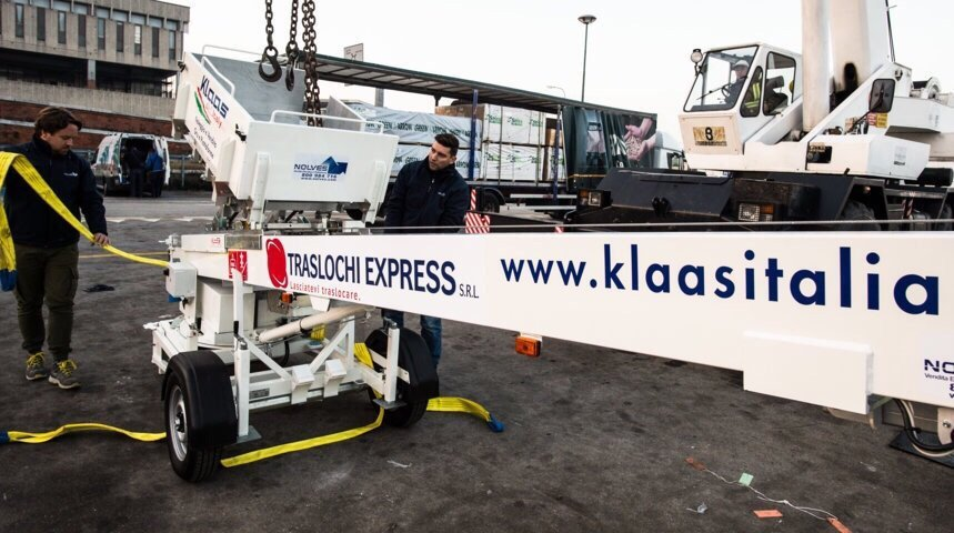 carrello elevatore a marchio Klaas