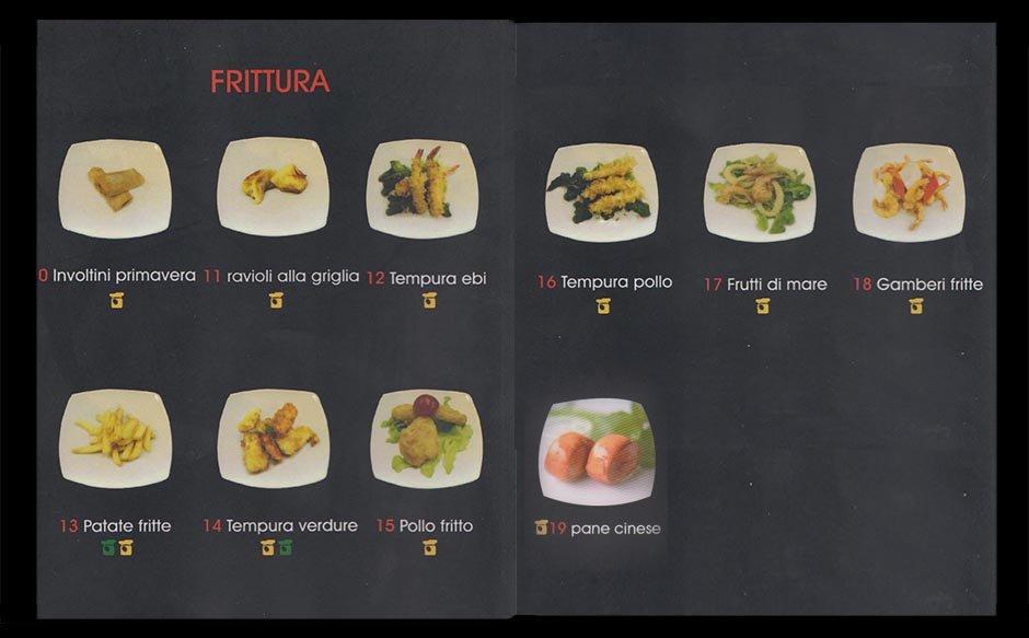 frittura di pesce cena