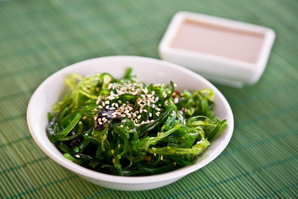 wakame alghe