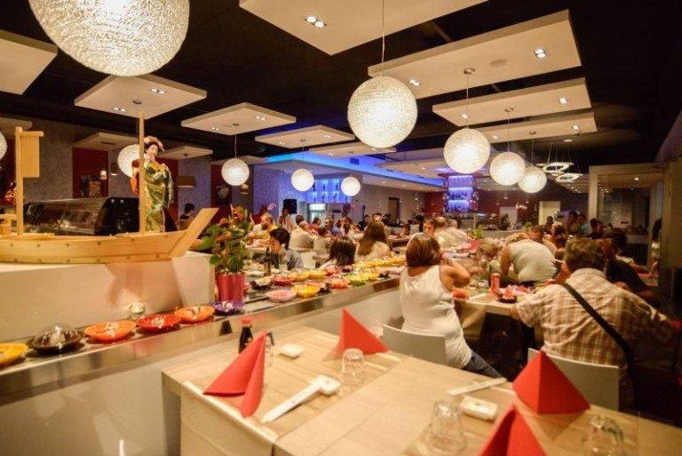 Interni ristorante di Sushi