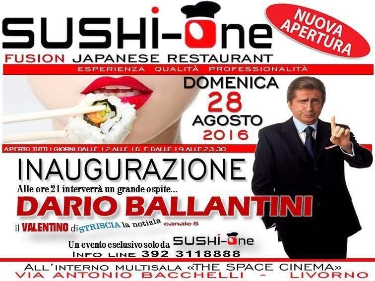 Inaugurazione Sushi One Livorno