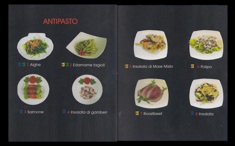 antipasti sushi
