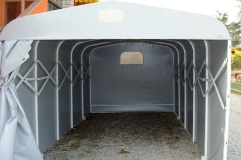 box auto in pvc, garage in pvc, box su misura