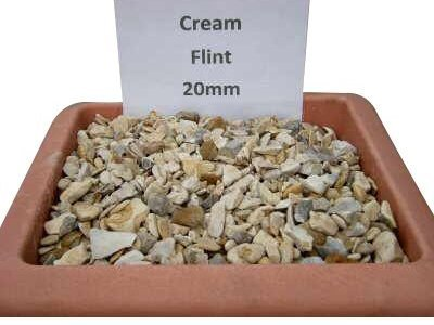 Cream Flint 20mm
