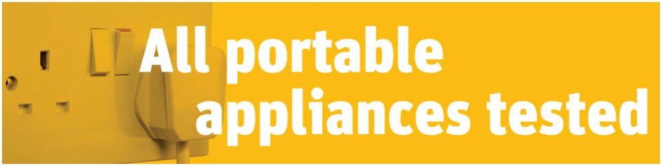 All portable appliances tested