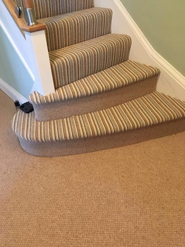Carpets for stairway
