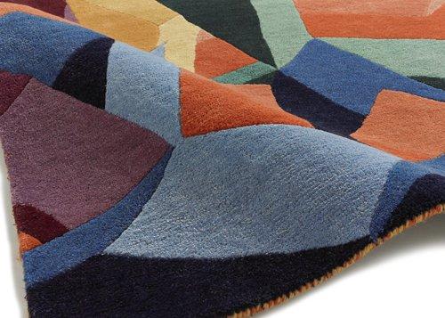 Multi  shape design carpet
