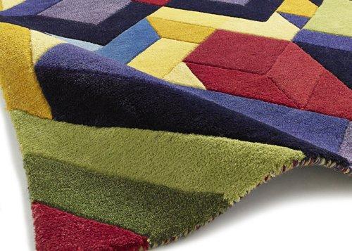 Multi design and color carpet