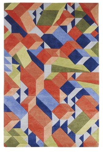 Multi color design flooring carpet