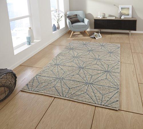 Jute material carpet