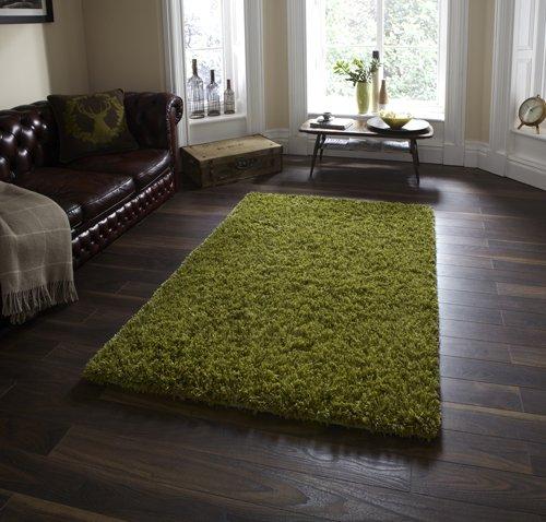 Green color floor carpet