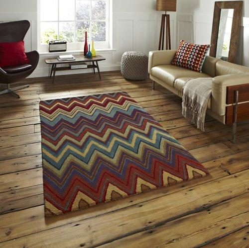 Abstract design carpet
