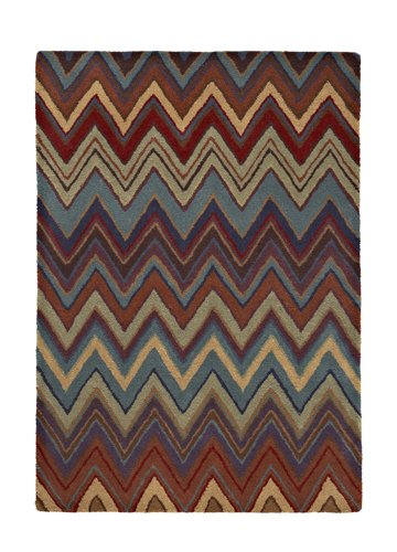 Multi color Abstract design carpet