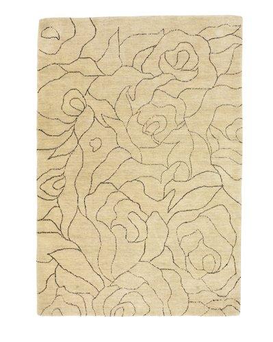 Closer view of a carpet