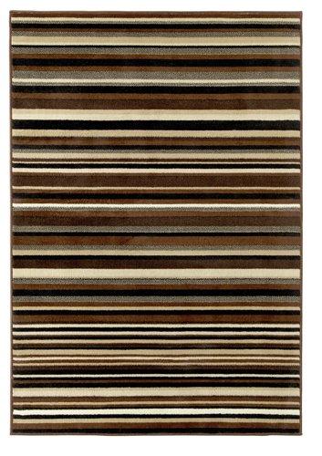 Horizontal line carpet design