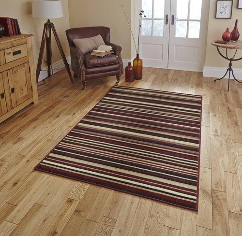 Horizontal line design carpet