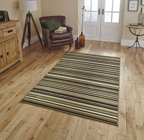 Carpet with horizontal lines