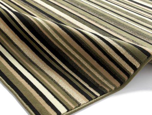 Rug with horizontal line