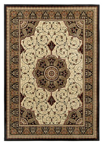 Top view of a carpet