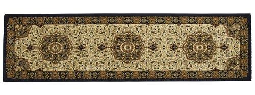 Top view of a rectangular carpet