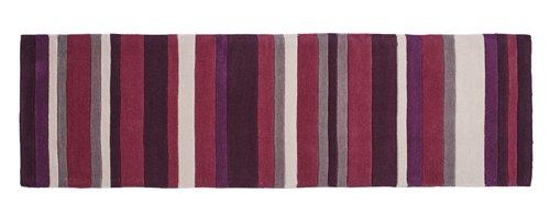 Vertical  multi color lines carpet