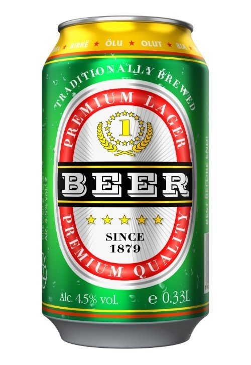 Latta di birra