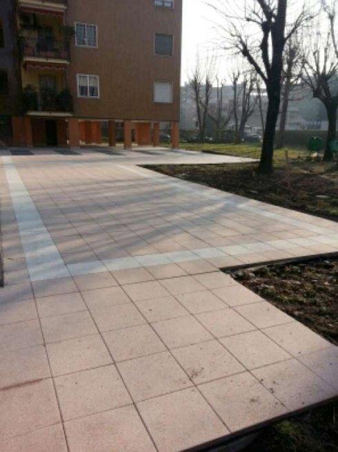 Pavimentazioni per giardini condominiali