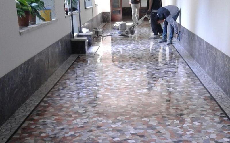 levigatura pavimenti granito