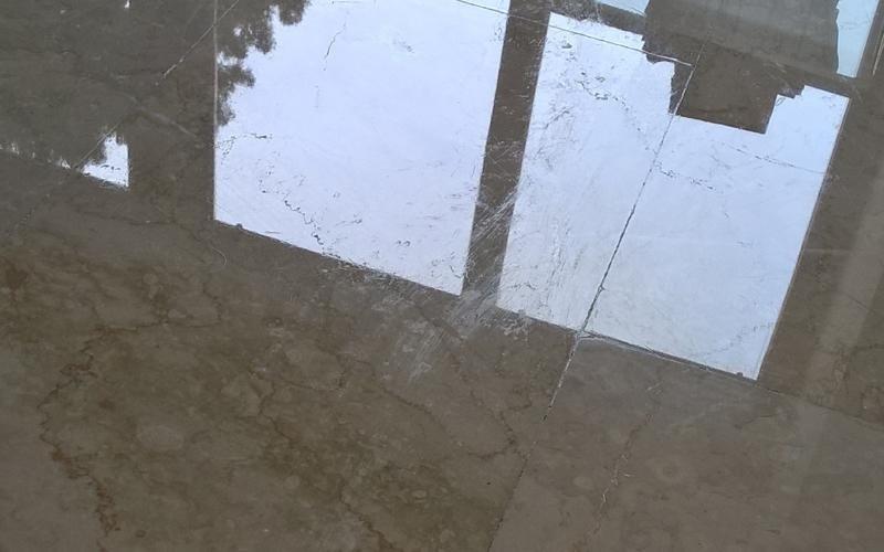 trattamento pavimentazione in marmo