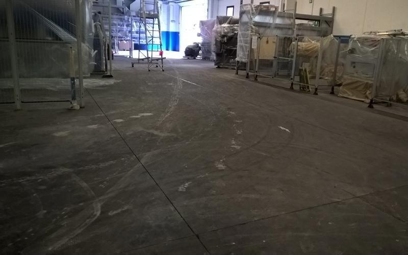 trattamento superficie cemento