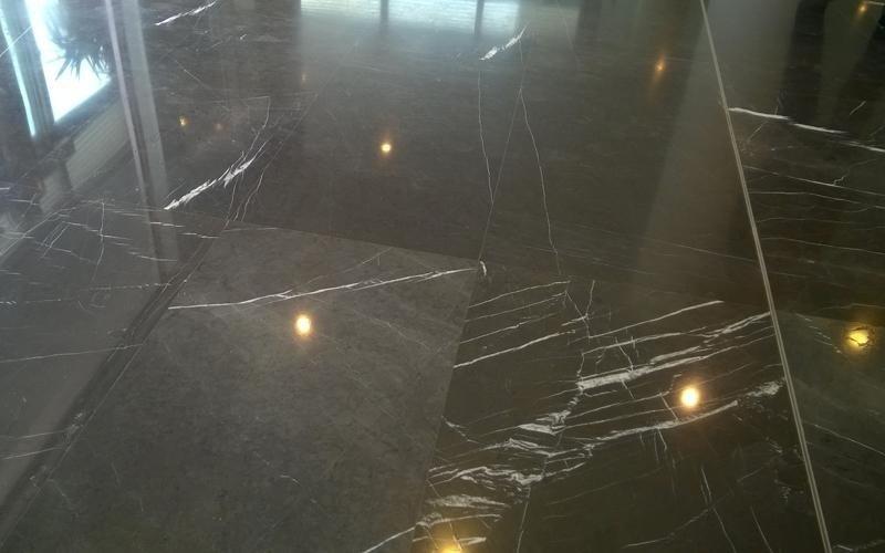 pavimentazione con marmo