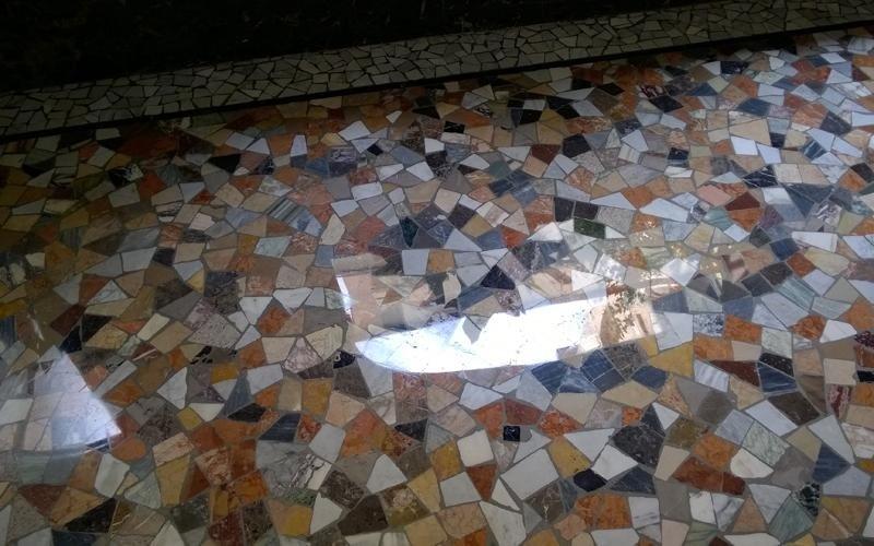 sistemazione pavimento granito