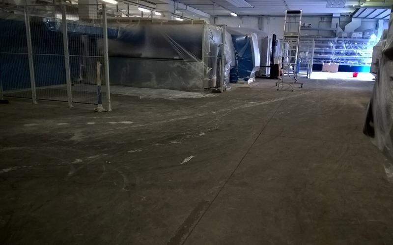 trattamento superficie pavimento