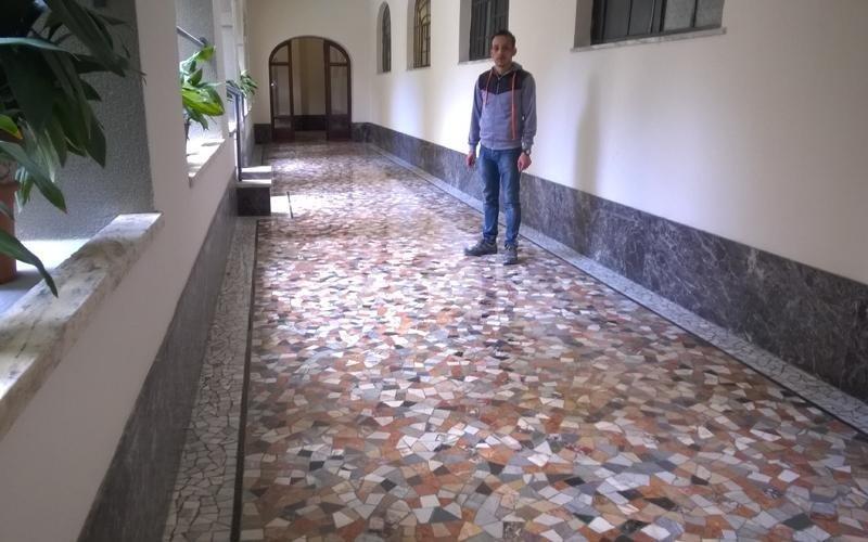 manutenzione pavimento granito