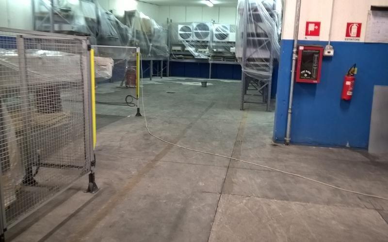 trattamento pavimento cemento