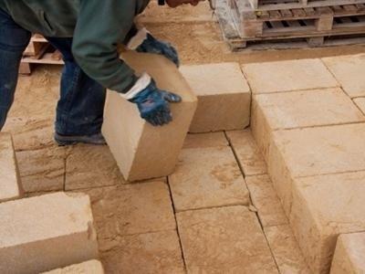 Stone blocks for restorations