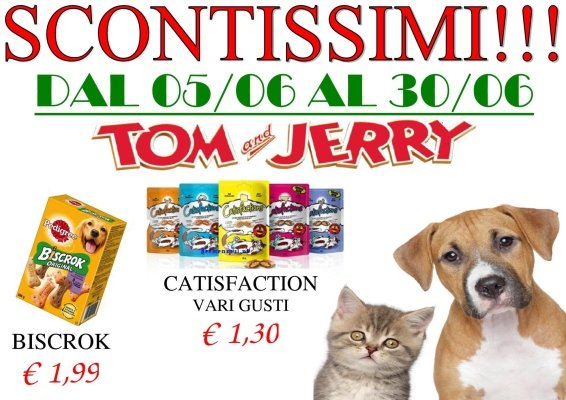 TOM e JERRY PET SHOP