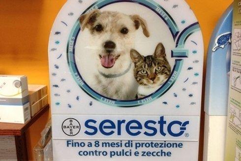 Trattamenti antiparassitari per animali.