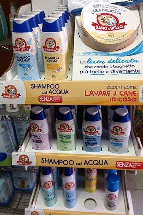 Prodotti per igiene cani.