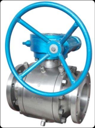 Valvola a sfera Trunnion ASME classe 150/300/600 lbs A216 WCB