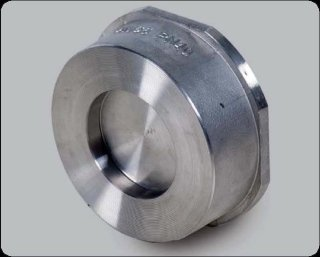 Wafer type disc check valve PN6-40