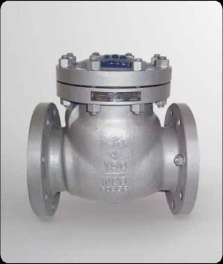 Ritegno Clapet ASME classe 600 lbs A216 WCB / trim 8