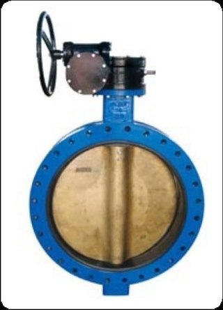 U-section butterfly valve