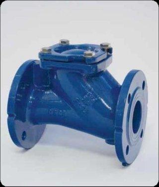 Flanged ball check valve