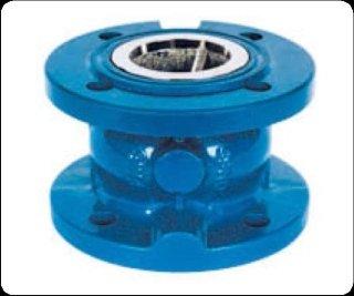 Axial/disc check valve