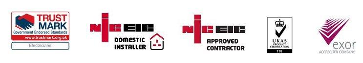 NICEIC UKAS logos