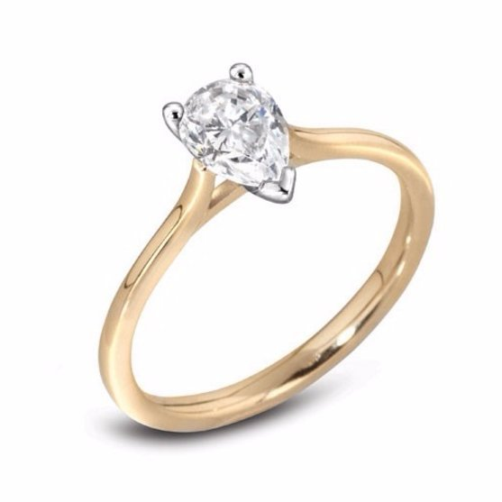 Handmade Solitaire Engagement Ring